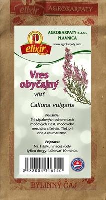 AGROKARPATY VRES OBYČAJNÝ vňať bylinný čaj 1x30 g