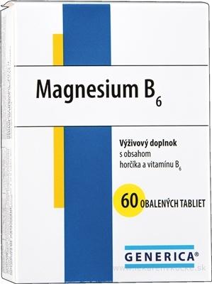 GENERICA Magnesium B6 tbl 1x60 ks