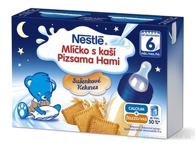 Nestlé Mliečko s kašou SUŠIENKOVÉ od ukonč. 6. mesiaca, 2x200 ml (400 ml)