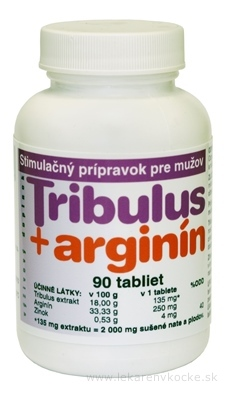 NATURVITA TRIBULUS + ARGINÍN tbl 1x90 ks