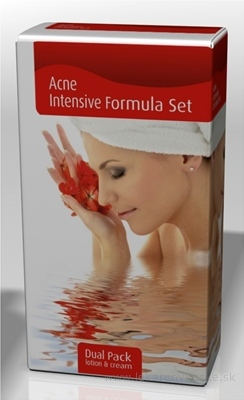 Acne Intensive Formula set Dual Pack (pleťová voda 200 ml + krém 20 g) 1x1 set