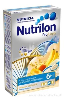 Nutrilon Profutura obilno-mliečna kaša krupicová s banánom a marhuľou (od ukonč. 6. mesiaca) 1x225 g