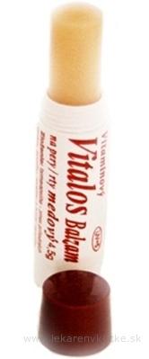 VITALOS Balzam na pery medový SPF 5 vitamínový 1x1 ks