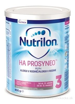 Nutricia NUTRILON 3 HA 12+ PROSYNEO 800g