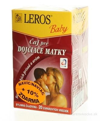 LEROS BABY ČAJ PRE DOJČIACE MATKY 20x1,5 g (30 g)