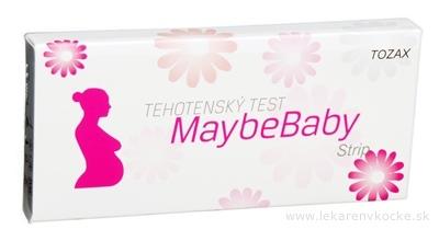 MaybeBaby strip 2v1 tehotenský test (pásik) 1x2 ks