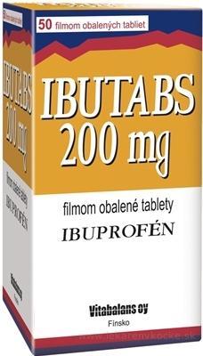 IBUTABS 200 mg tbl flm (blis.PVC/Al) 1x50 ks