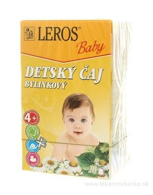 LEROS BABY DETSKÝ ČAJ BYLINKOVÝ 20x1,8 g (36 g)