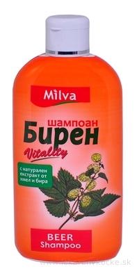 Milva ŠAMPÓN PIVNÉ DROŽDIE (Milva Shampoo BEER) 1x200 ml