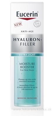 Eucerin HYALURON-FILLER Hydratačný Booster ultra ľahký, prvé vrásky 1x30 ml