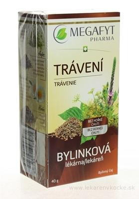 MEGAFYT Bylinková lekáreň TRÁVENIE bylinný čaj 20x2 g (40 g)