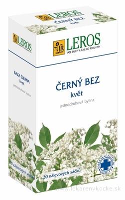 LEROS BAZA ČIERNA KVET 20x1 g (20 g)