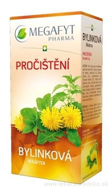 MEGAFYT Bylinková lekáreň PREČISTENIE bylinný čaj 20x1,5 g (30 g)