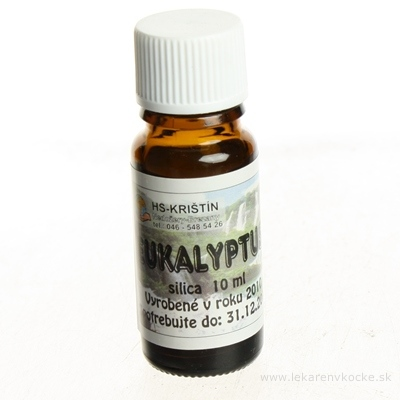 HS prírodná silica Eukalyptus 1x10 ml