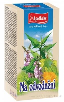 APOTHEKE ČAJ NA ODVODNENIE bylinná zmes v nálevových vreckách 20x1,5 g (30 g)