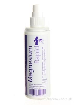 Magnesium Rapid sprej pre vonkajšie použitie 1x100 ml