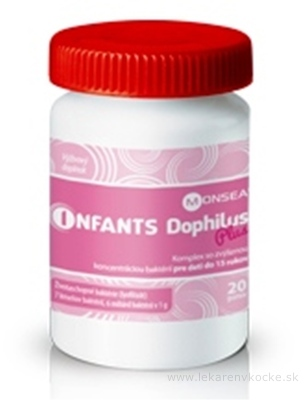 INFANTS DOPHILUS PLUS prášok 1x20 g