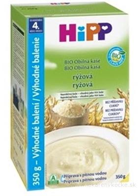 HiPP BIO Obilná KAŠA ryžová nemliečna, HA, (od ukonč. 4. mesiaca) Výhodné balenie 1x350 g
