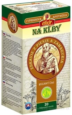 AGROKARPATY CYPRIÁN, NA KĹBY bylinný čaj, čistý prírodný produkt, 20x2 g (40 g)