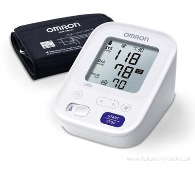 OMRON M3 Digitálny TLAKOMER automatický na rameno s predĺženou manžetou 1 ks + sieťový adaptér 1 ks (inov.2020) 1x1 set