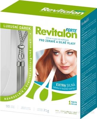 VITAR Revitalon FORTE cps 90 + darček: luxusný náhrdelník, 1x1 set