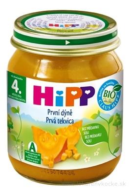 HiPP Príkrm Prvá tekvica zeleninový (od ukonč. 4. mesiaca) 1x125 g