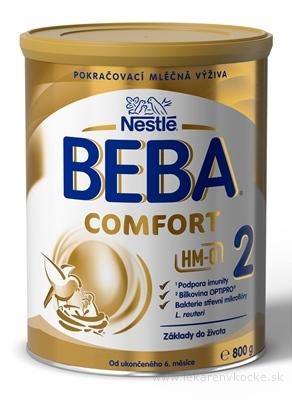 Nestlé BEBA COMFORT 2 HM-O následná výživa dojčiat (od ukonč. 6. mesiaca) 1x800 g