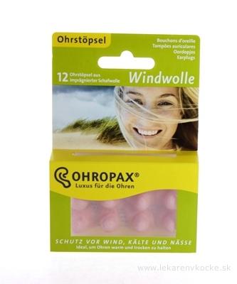 OHROPAX WINDWOLLE Ušné vložky 1x12 ks
