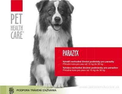 PET HEALTH CARE PARAZYX tablety pre psov od 15 kg do 30 kg, 1x44 ks