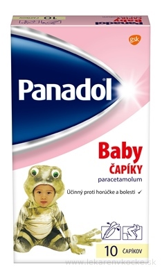 Panadol Baby sup 125 mg 1x10 ks
