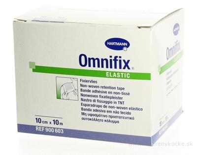 OMNIFIX ELASTIC hypoalergénna náplasť fixačná z netkaného textilu (10cmx10m) 1x1 ks