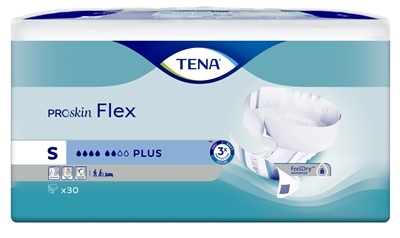 TENA FLEX PLUS SMALL absorpčné nohavičky s rýchloupínacím pásom 1x30 ks