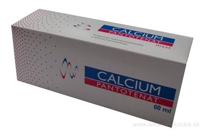 HERBACOS CALCIUM PANTOTENÁT masť 1x60 ml