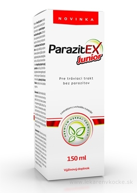 ParazitEx Junior sirup 1x150 ml