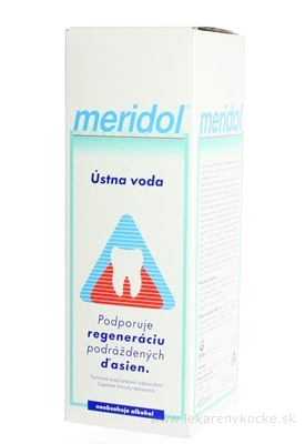 MERIDOL ÚSTNA VODA 1x400 ml