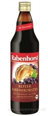 Rabenhorst Červené hrozno šťava 1x750 ml
