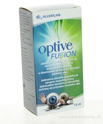 Optive FUSION očný roztok zvlhčenie oka 1x10 ml