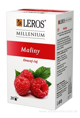 LEROS MILLENIUM Maliny ovocný čaj 20x2 g (40 g)
