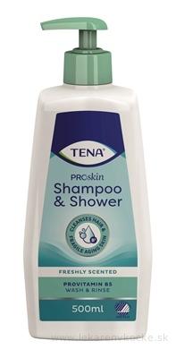 TENA ŠAMPÓN A SPRCHOVÝ GÉL (Shampoo & Shower) 1x500 ml