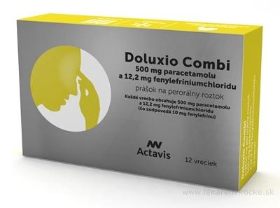Doluxio Combi plo por 500 mg/12,2 mg, 1x12 vrecúšok