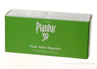 Plantur 39 Aktívne kapsule cps 1x60 ks