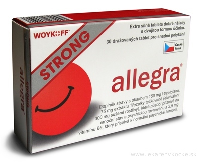 allegra STRONG tbl 1x30 ks