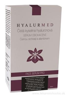 HYALURMED Face sérum PRO (s čiernou orchideou a alantoínom) 1x30 ml