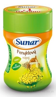 Sunar Rozpustný nápoj Feniklový v prášku (od ukonč. 4. mesiaca) 1x200 g