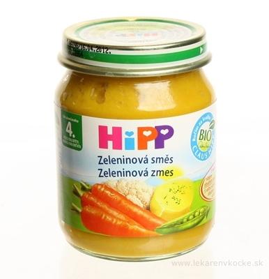 HiPP Príkrm Zeleninová zmes zeleninový (od ukonč. 4. mesiaca) 1x125 g