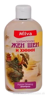 Milva ŠAMPÓN ŽENŠEŇ A CHINÍN (Milva Shampoo GINSENG) 1x200 ml