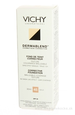 VICHY DERMABLEND 45 KOR.MAKE-UP (M5541701) fluidný 1x30 ml