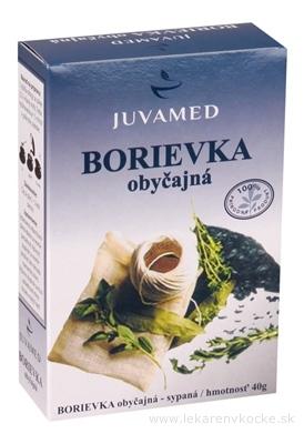JUVAMED BORIEVKA OBYČAJNÁ bylinný čaj sypaný 1x40 g