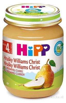HiPP Príkrm ovocný Hrušky Wiliams-Christ (od ukonč. 4. mesiaca) 1x125 g