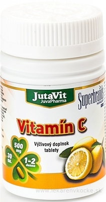 JutaVit Vitamín C 500 tbl 1x30 ks